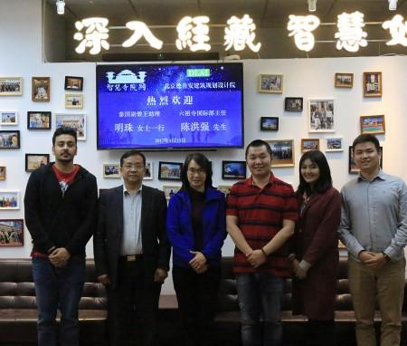泰国僧王助理明珠女士、六祖寺国际部主任陈洪强先生到访北京德鲁安