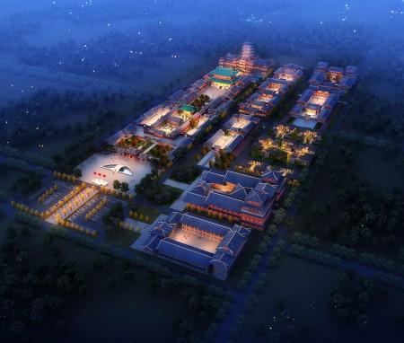 山西太原明秀寺总体规划