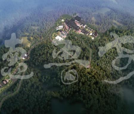 湖南常德沧山古寺总体规划