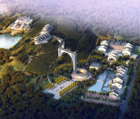 九华山茶仙谷总体规划设计