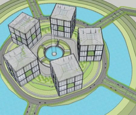 世界和平广场建筑设计