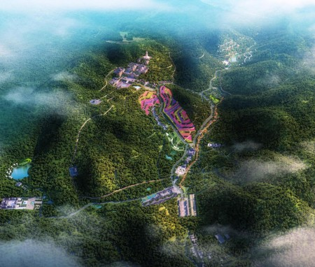 浙江西蠡风情谷景区概念性总体规划