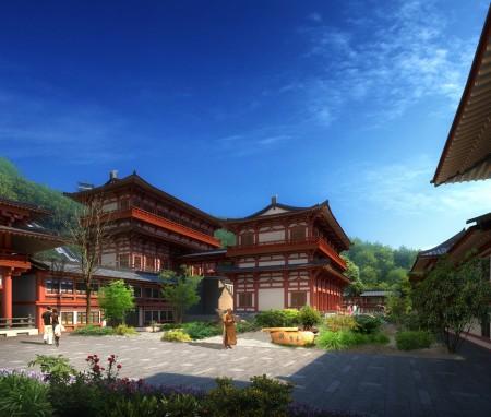 湖北省现光山相国寺修建性详细规划(2015-2025)