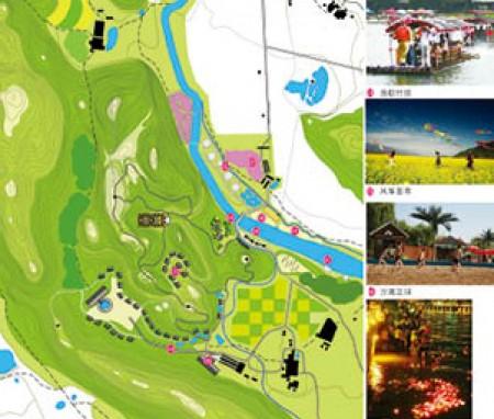 广东省英德市麓源仙境旅游度假区概念规划