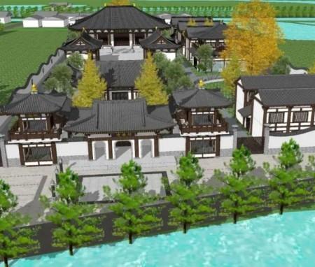 民族建筑传承与创新设计之上海明因寺重建