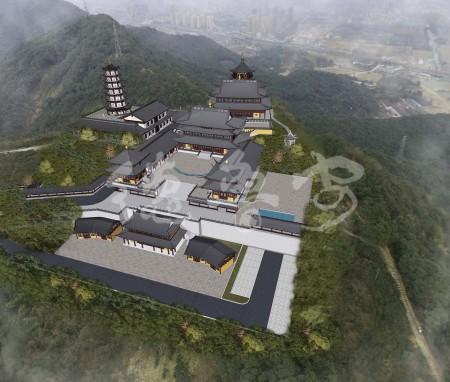 浙江杭州先照寺总体规划设计