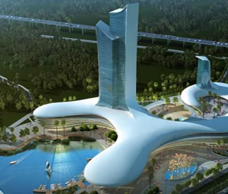 东莞松山湖综合体设计