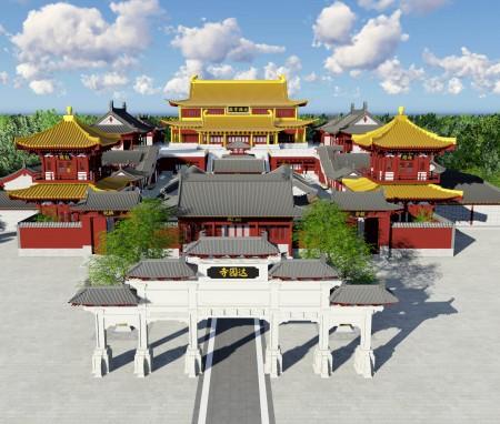 北京达园寺总体规划