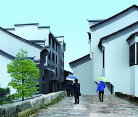 湖南省郴州宜章中夏街景观整治规划设计