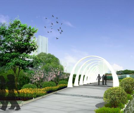 深圳市香蜜公园设计