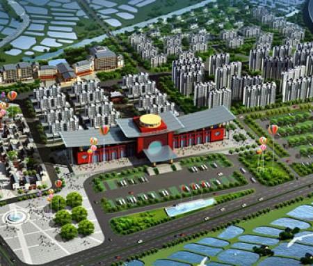 广东南海九江镇旅游集散中心建筑设计