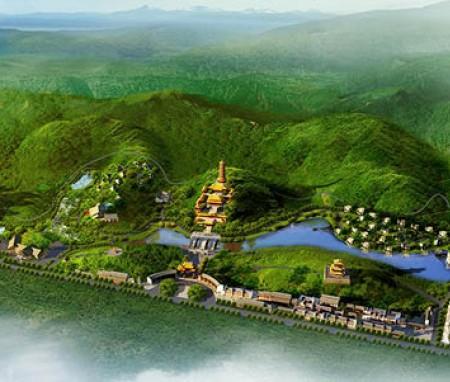 广东罗定市白庙文化旅游区总体规划