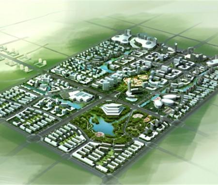 河南商丘金贸中心概念规划