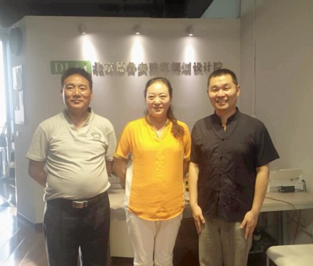 Zhiduo County Leader Visits DLAI 【People 2015】