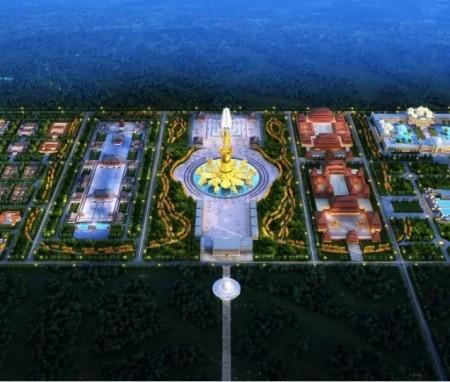 悲智愿行 智慧之光,尼泊尔蓝毗尼圣园(北区)总体规划