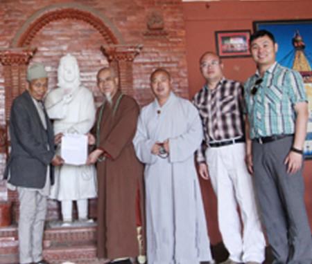 德鲁安赴尼泊尔印度佛教圣地参访学习