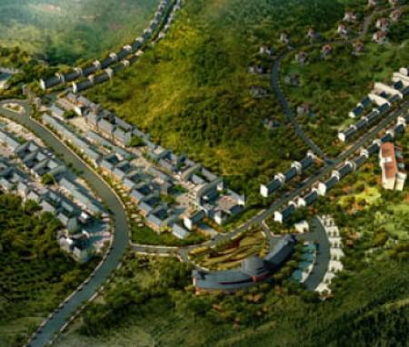 江西九寨温泉休闲度假小镇总体规划