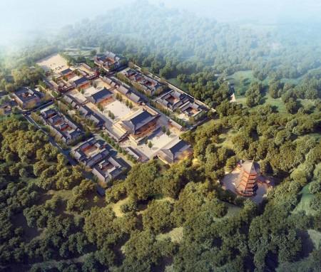 广东省惠州市佛宇山寺总体规划
