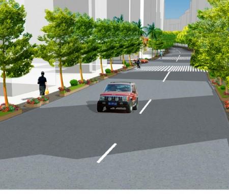 海口市街道景观改造设计