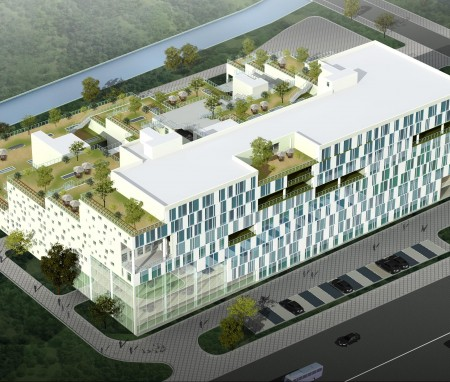 无锡环境监控中心建筑设计(二)